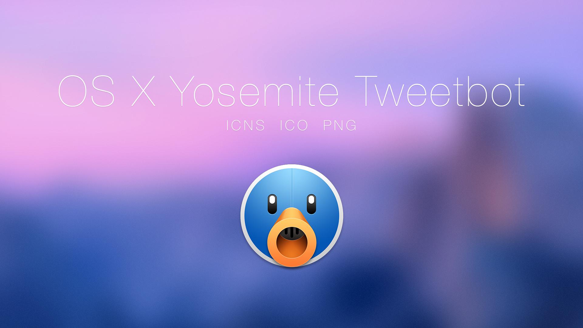OS X Yosemite Tweetbot by JasonZigrino