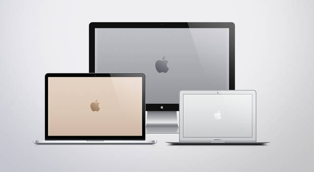 Stainless Steel Apple Logo Wallpapers