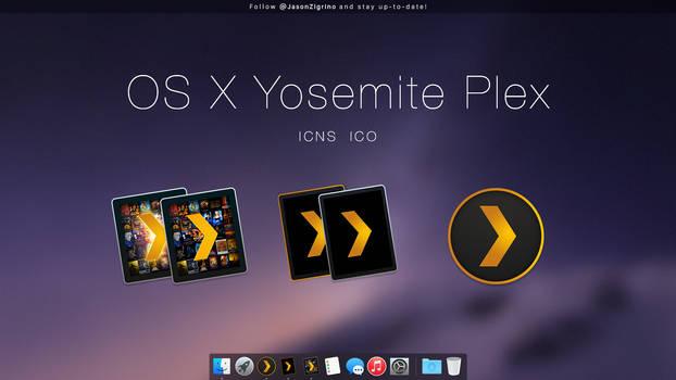 OS X Yosemite Plex by JasonZigrino