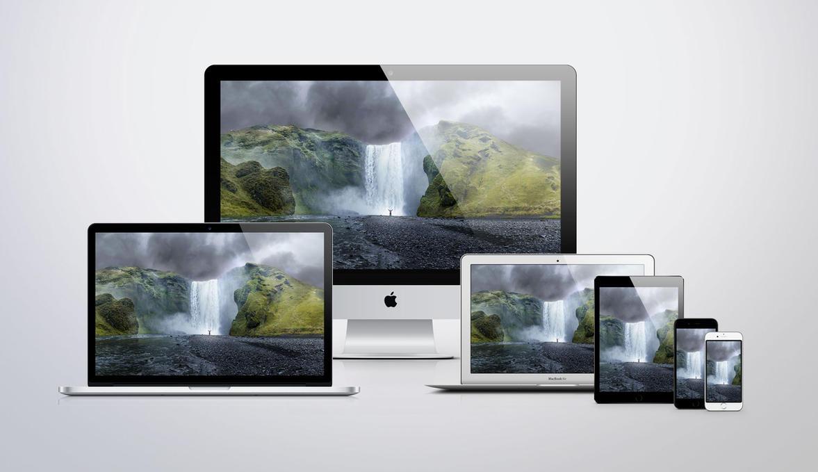 Apple October 16 Event 5K Wallpaper by JasonZigrino