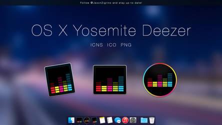 OS X Yosemite Deezer