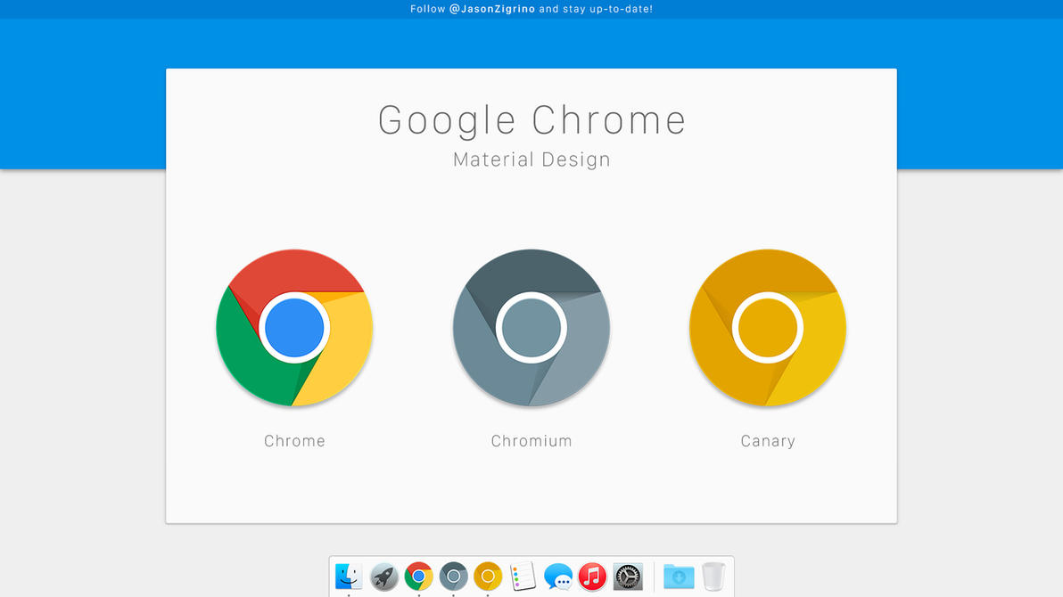 Google Flat Design Template