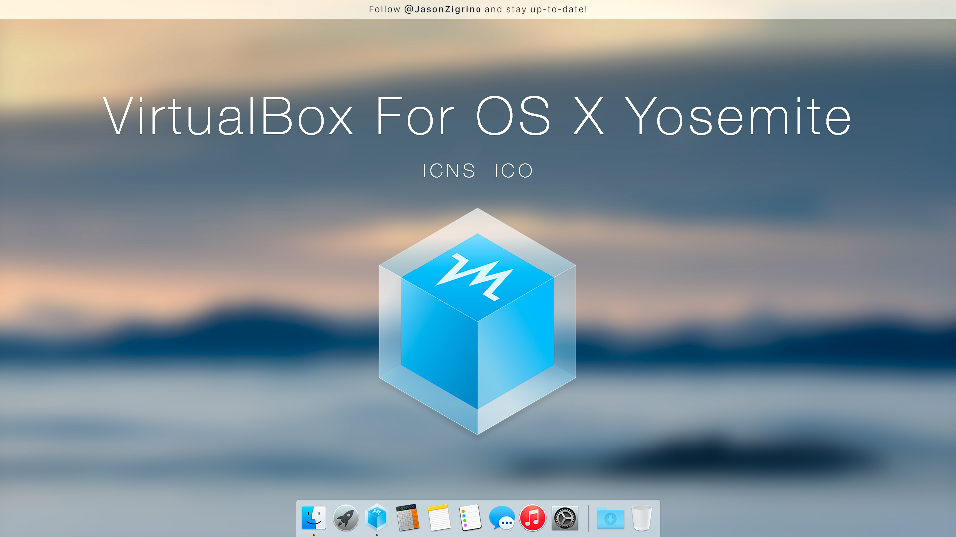 VirtualBox For OS X Yosemite by JasonZigrino