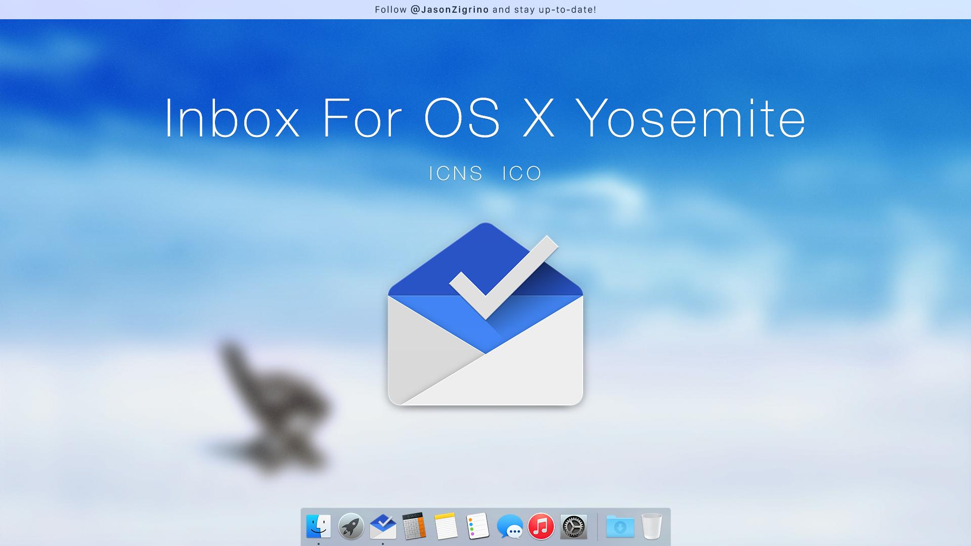 Google Inbox For OS X by JasonZigrino