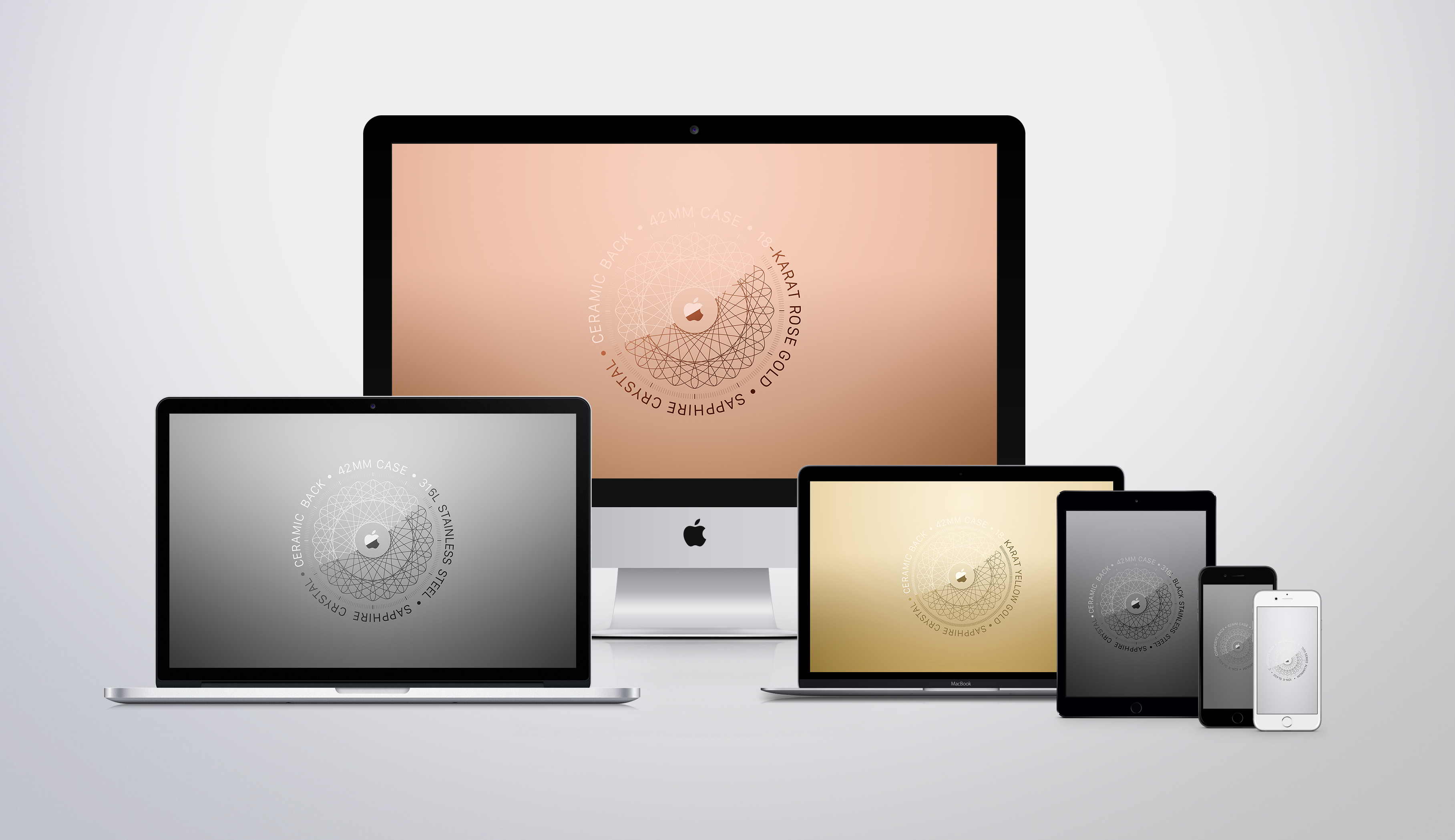 Apple Watch Certification Wallpaper Set