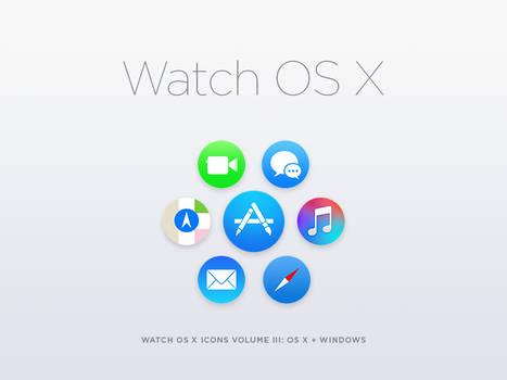 Watch OS X Volume III By Jason Zigrino