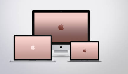 Apple Rose Gold Wallpapers