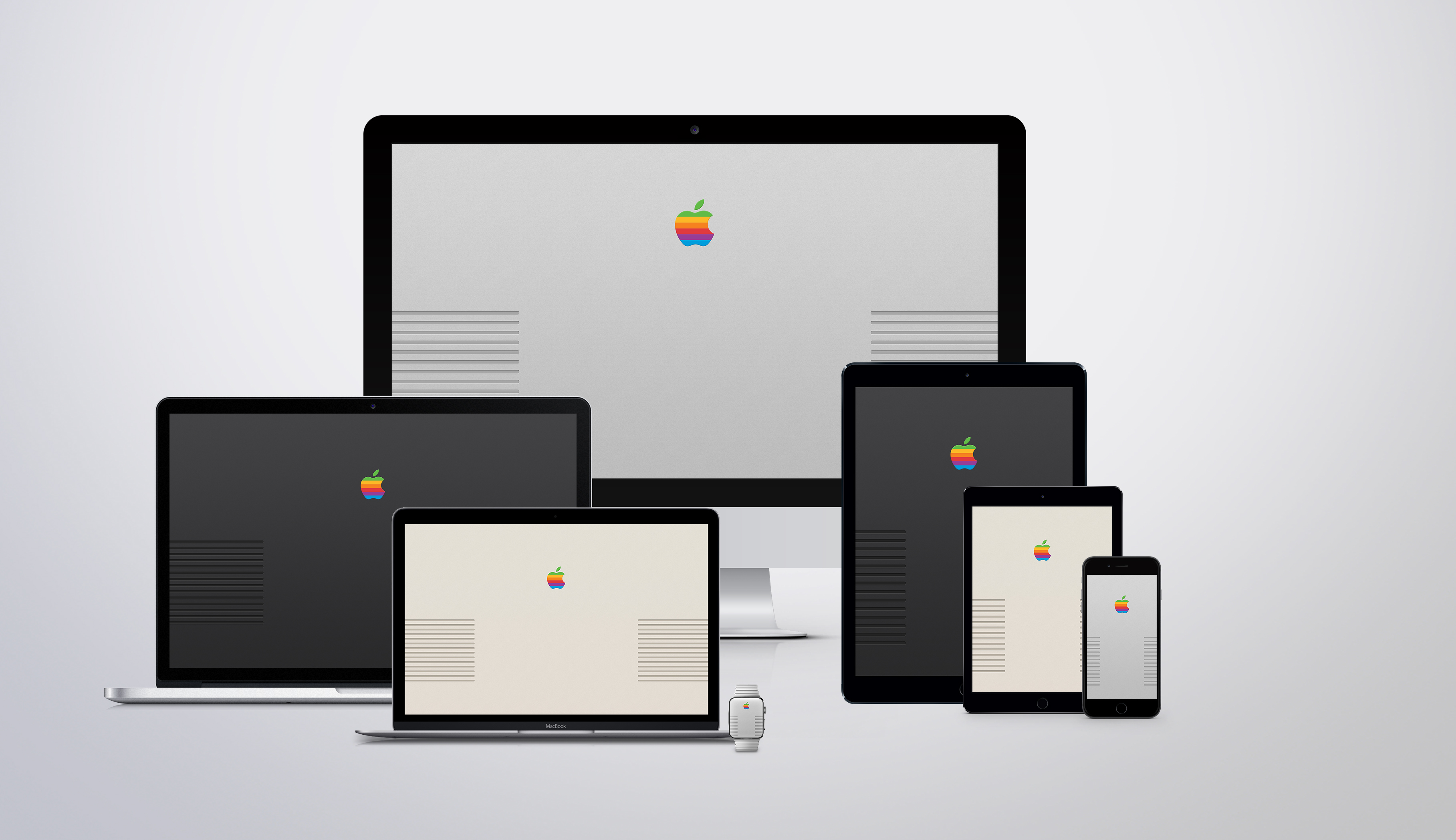 Retro Apple Wallpapers