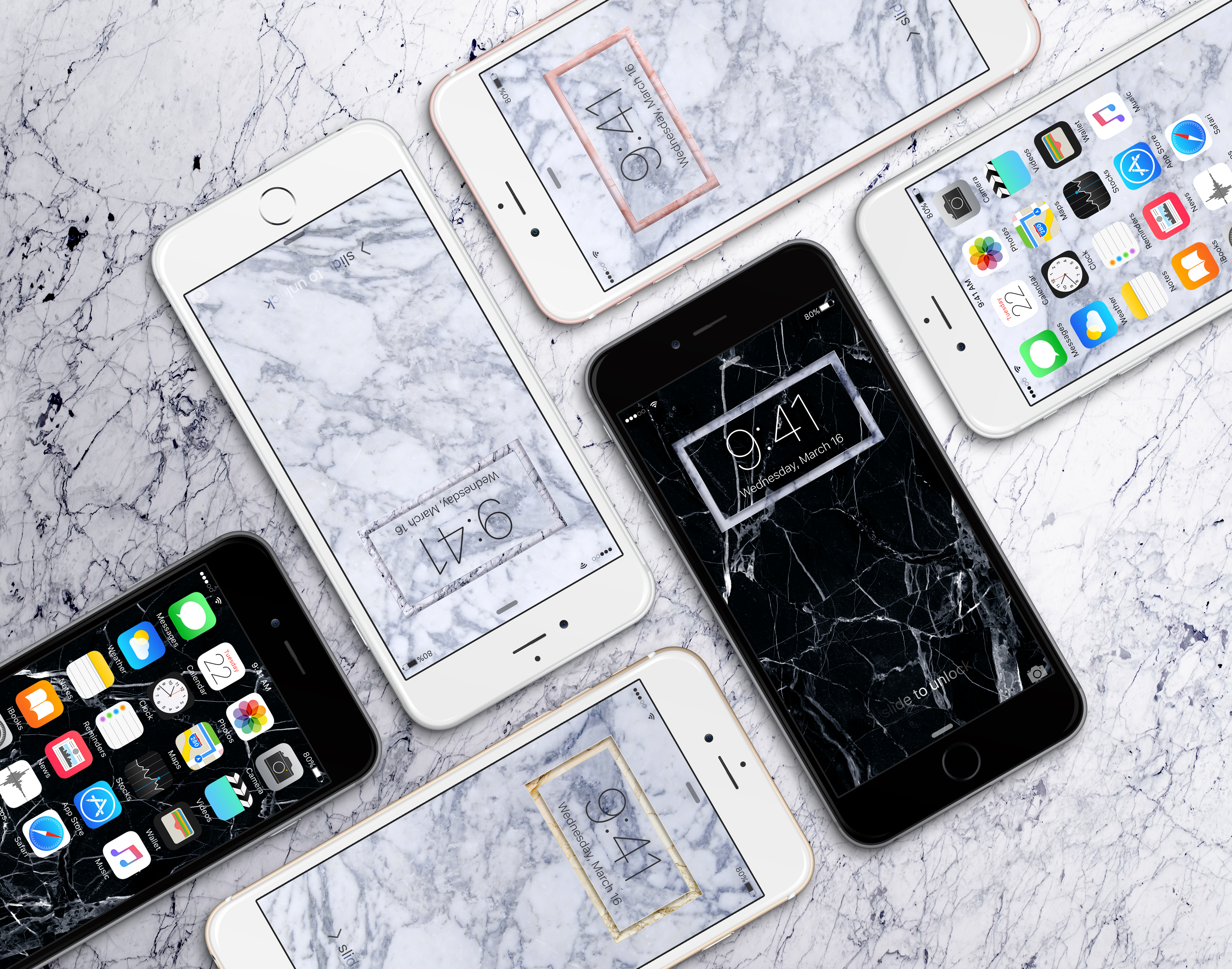 Marble Iphone Wallpapers By Jasonzigrino On Deviantart