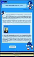 Sonic the Hedgehog Journal Skin by DrTrueBlueJS
