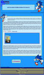 Sonic the Hedgehog Journal Skin