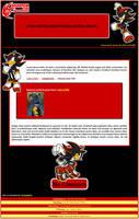 Shadow the Hedgehog Journal Skin by DrTrueBlueJS