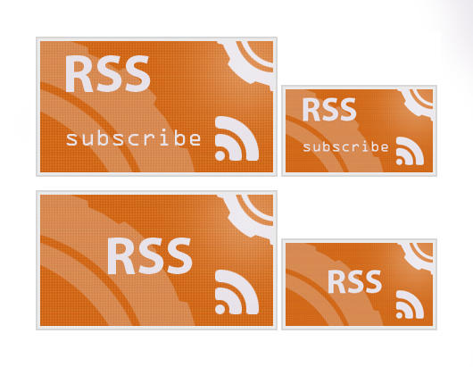Evolving RSS Feed icons 2010 by Aegis-AlVo