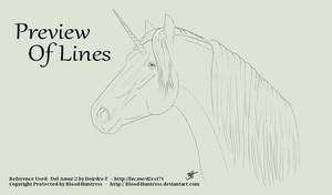 Unicorn Head Lines 2015-05-21