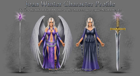 Book Of Angels - Joan Winter Character Profile