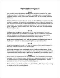 Hellraiser Resurgence Treatment