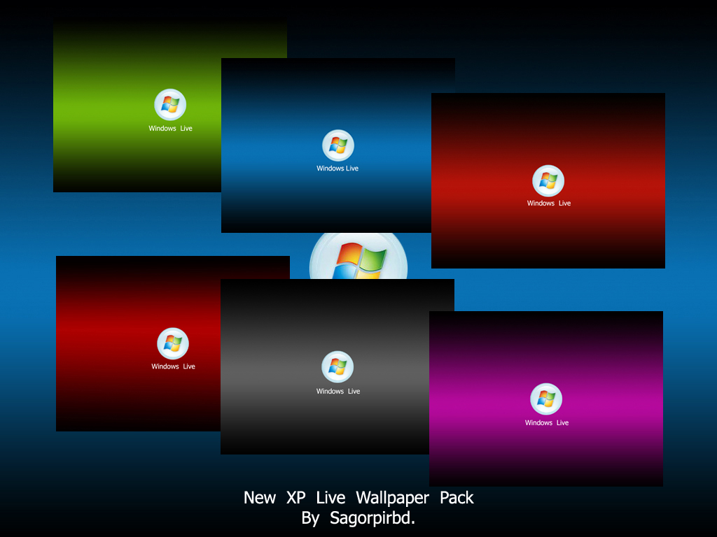 New XP Live Wallpaper Pack by sagorpirbd