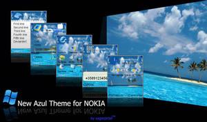 New Azul Theme for Nokia