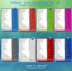 ViStart Live ColorPack for XP