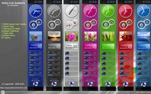 Vista Live Gadgets Rainmeter