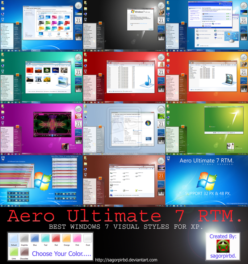 how to get windows aero 7