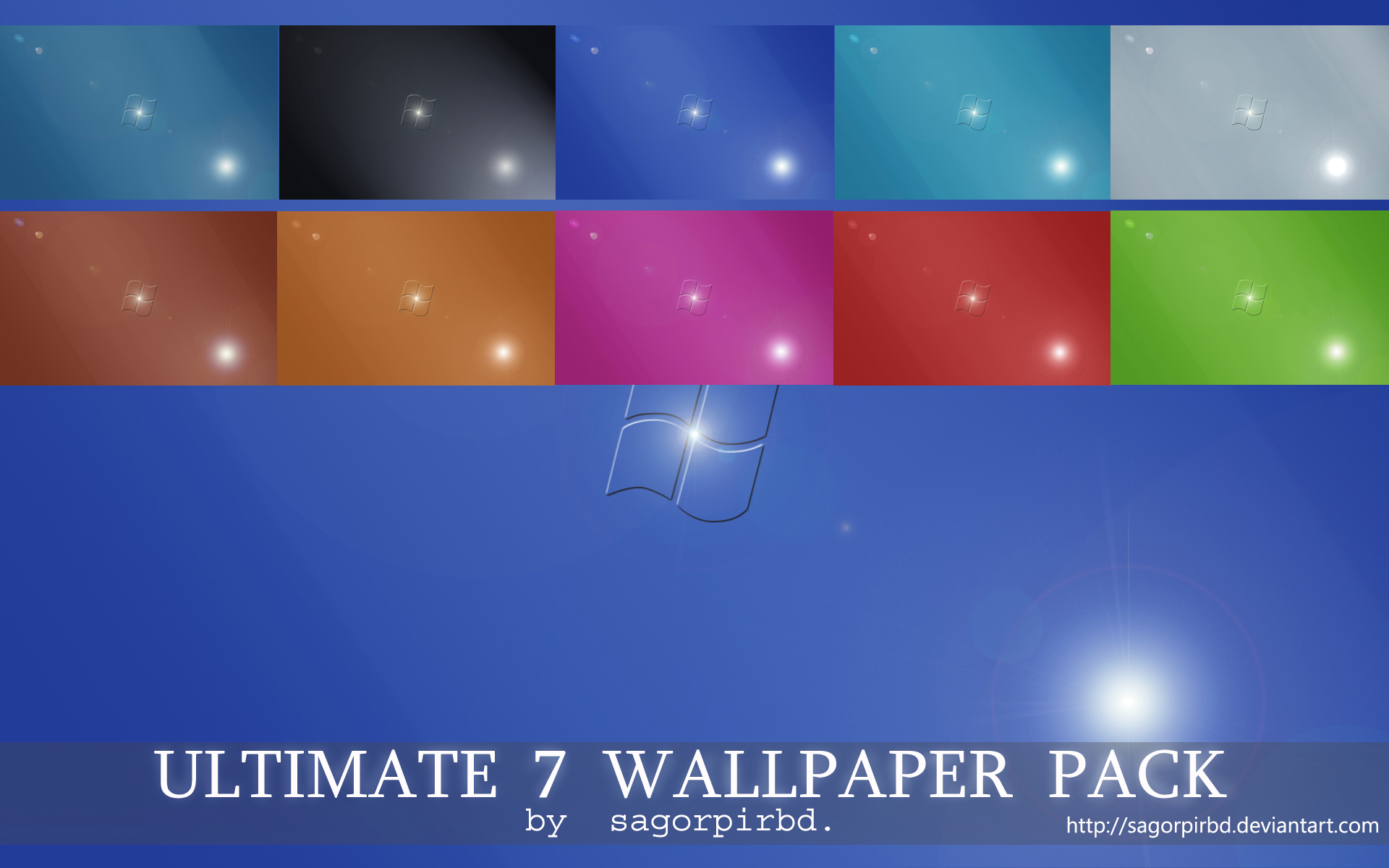 Ultimate 7 Wallpaper Pack_2 by sagorpirbd