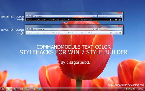 StyleHacks for 7 StyleBuilder