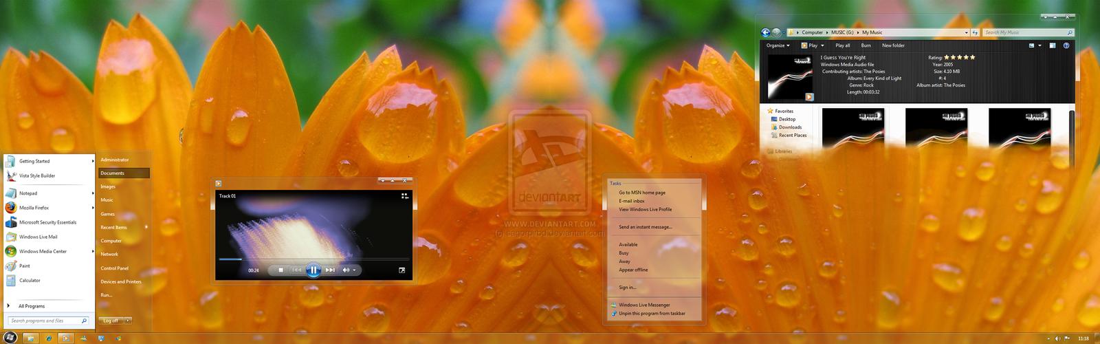 Satin2 7 Plus Port to Windows 7 by sagorpirbd