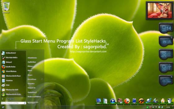 Glass ProgramList StyleHacks