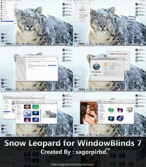 Snow Leopard for WindowBlind 7