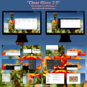 Clear Glass 2.0 for Win 7