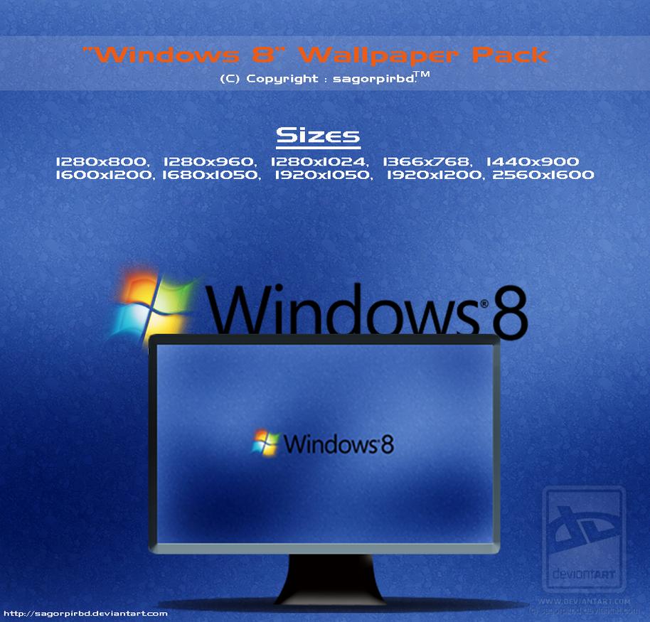 Windows 8 Wallpaper Pack_1 by sagorpirbd