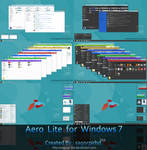 Aero Lite 8/8.1 Theme for Windows 7