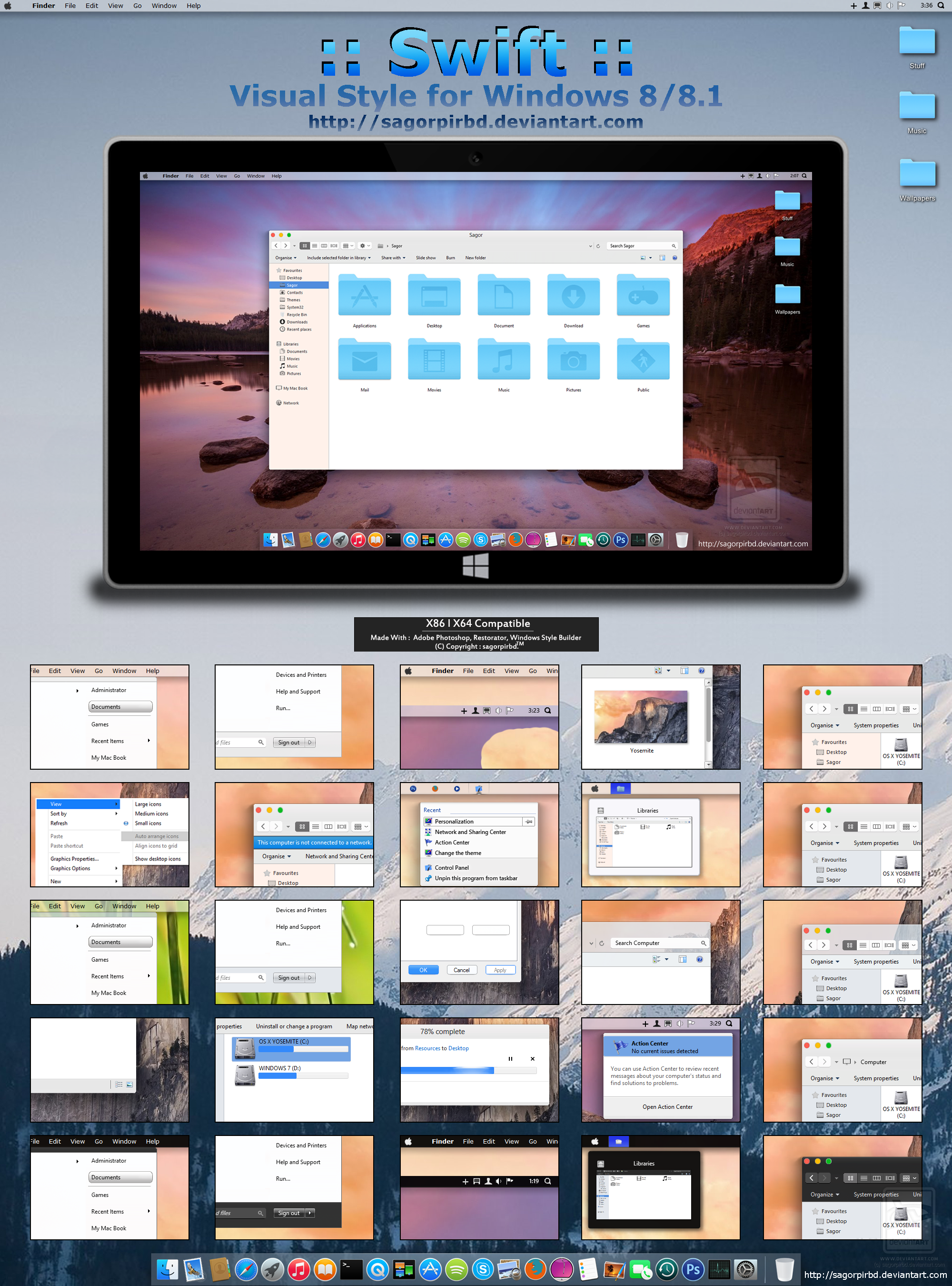 :: Swift :: for Win 8/8.1 Final by sagorpirbd