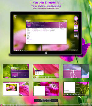 :: Purple Dream 8 :: Final for Win 8/8.1