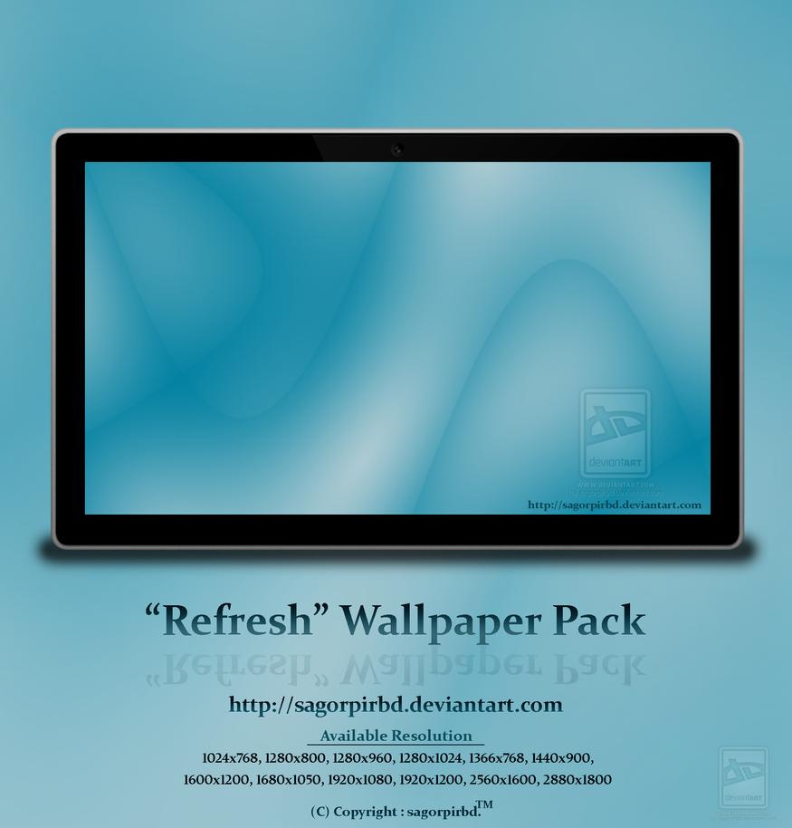 Refresh Wallpaper Pack by sagorpirbd