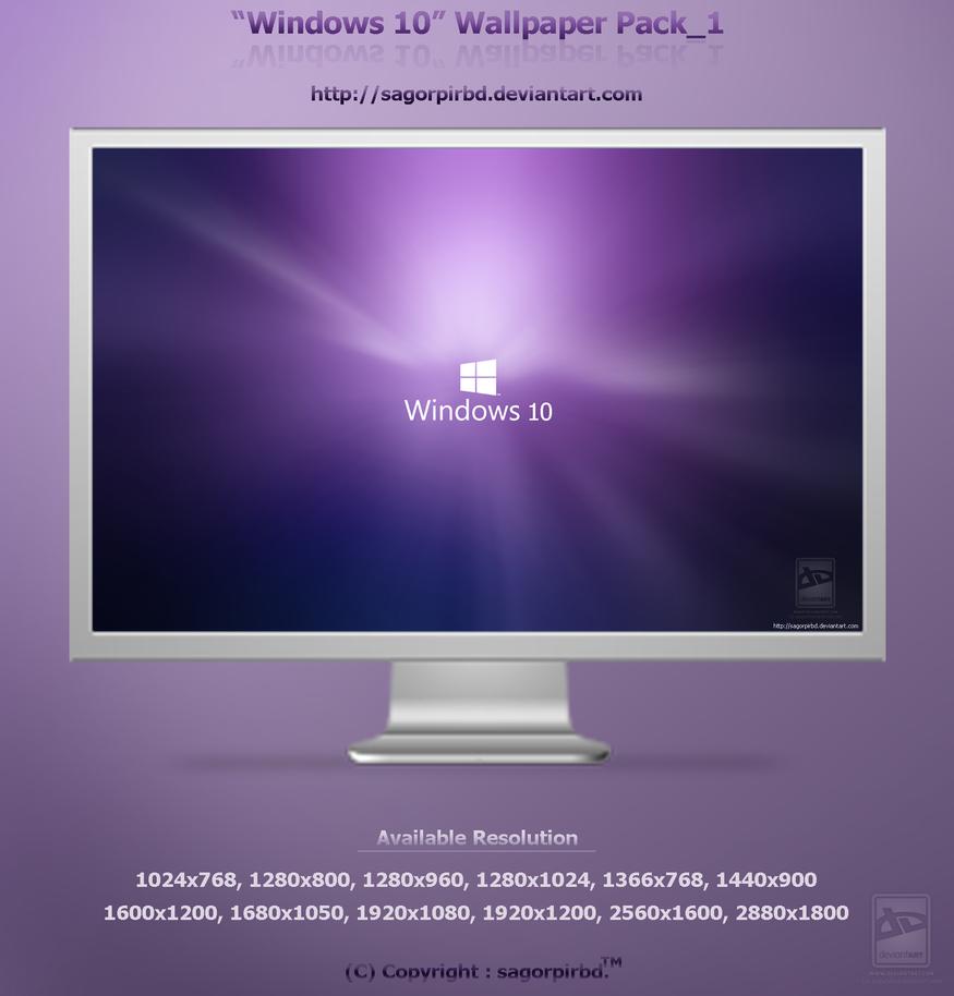 Windows 10 Wallpaper Pack1 By Sagorpirbd On Deviantart