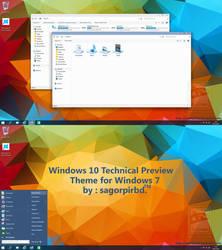Windows 10 Theme Updated by sagorpirbd