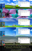 XP Themes Final for Win10 by sagorpirbd
