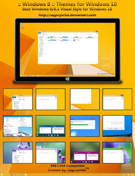 Windows 8 Themes for Win10 Final