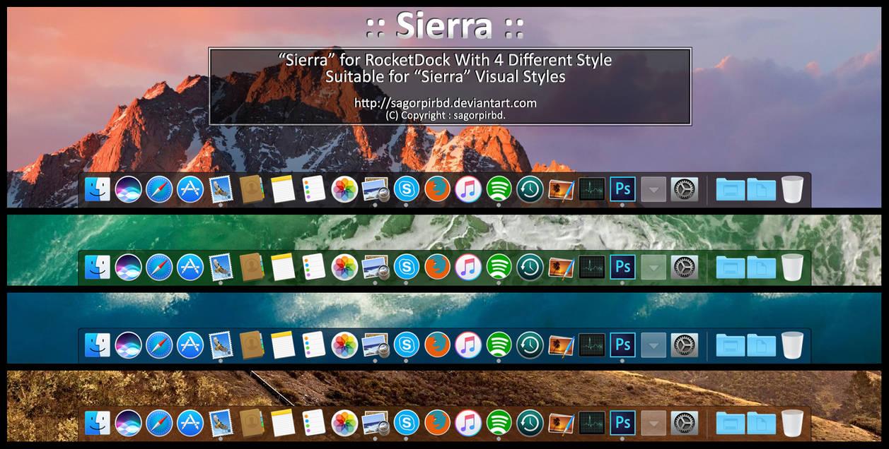 Sierra :: for RocketDock by sagorpirbd on DeviantArt