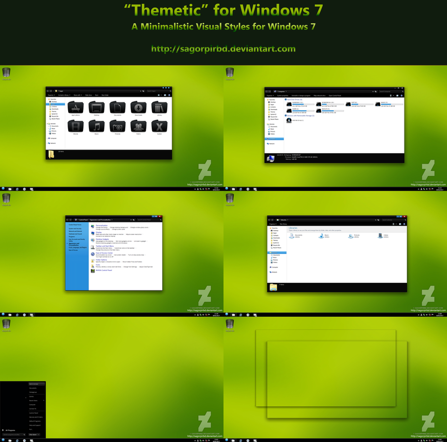 Themetic Theme for Win7