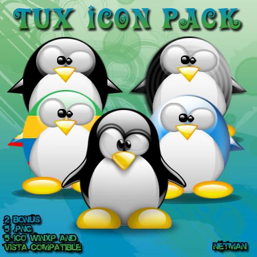 Tux Icon Pack by N3tM4n