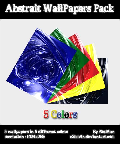 Abstrait WallPapers Pack by N3tM4n