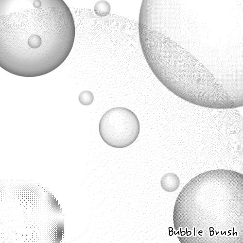 Bubble Brushes by kabocha