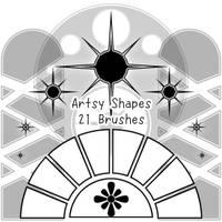 Artsy Brushes by kabocha