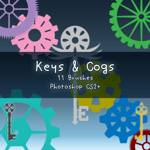 Keys + Cogs by kabocha