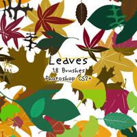 Leaf Brushes by kabocha