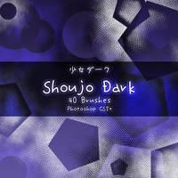 Shoujo Dark Brushes by kabocha