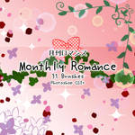 Monthly Romance Brushes